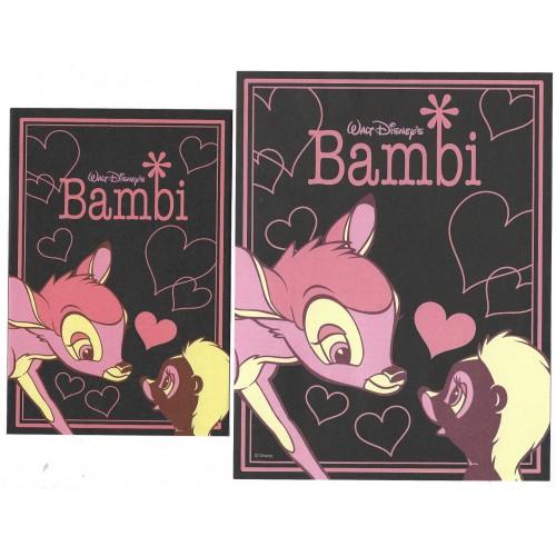Conjunto de Papel de Carta Disney Bambi JAPAN