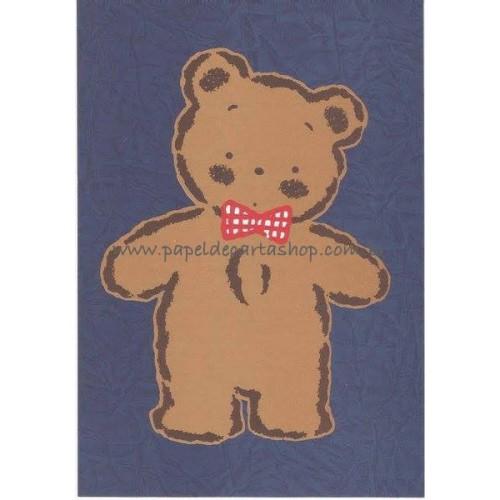 Ano 1988. Papel de Carta Avulso Mr. Bear's Dream AZ Antigo (Vintage) Sanrio