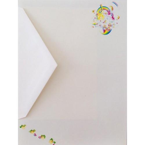 Conjunto de Papel de Carta IMPORTADO Mio Mini Pony 05