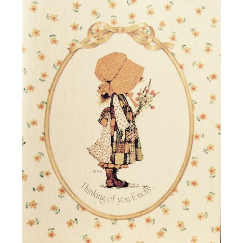 Cartão ANTIGO HOLLY HOBBIE P5